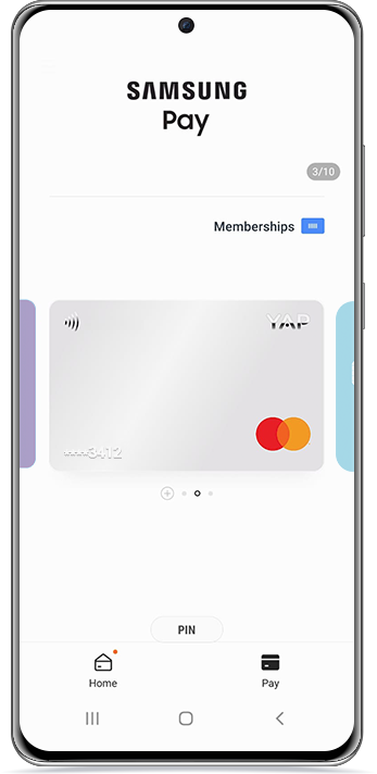 How to use Samsung Pay with YAP
